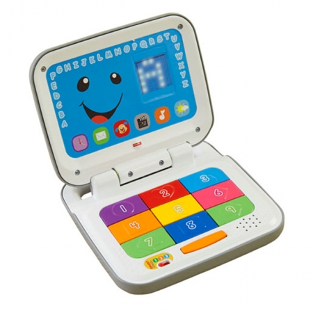 Интерактивный компьютер с технологией Smart Stages (украинский язык), Fisher-Price, DKK17