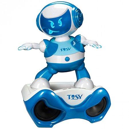 Интерактивный робот Discorobo Лукас-диджей (танцует, рус. язык), TOSY, TDV107