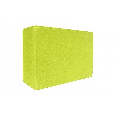Йога-блок FI-3048-Y (EVA 170гр, р-р 23 x 15,5 x 7,5см, желтый)
