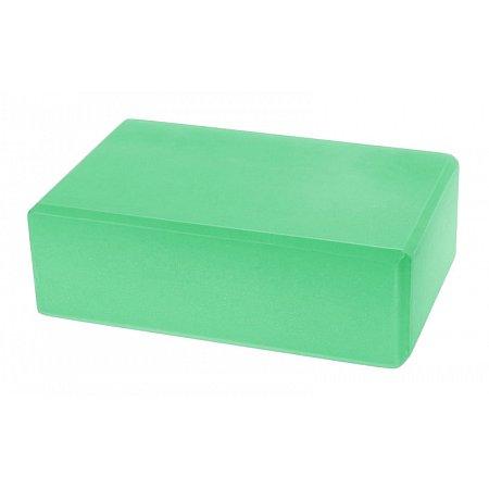 Йога-блок FI-5077-G (EVA 180гр, р-р 23 x 15,5 x 7,5см, зеленый)