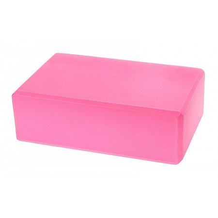 Йога-блок FI-5077-P (EVA 180гр, р-р 23 x 15,5 x 7,5см, розовый)