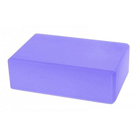 Йога-блок FI-5077-V (EVA 180гр, р-р 23 x 15,5 x 7,5см, фиолетовый)