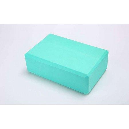 Йога-блок FI-5951-M (EVA 100гр, р-р 23 x 15,5 x 8см, мятный)