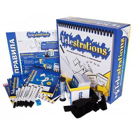Испорченный телефон (Telestrations) - Настольная игра