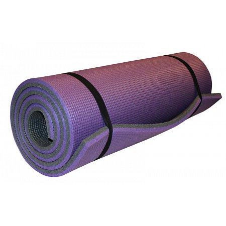 Каремат туристический Пенополиэтилен двухслойный 16мм UR TY-3775 (р-р 1,8х0,6мх1,6см, фиолетовый)