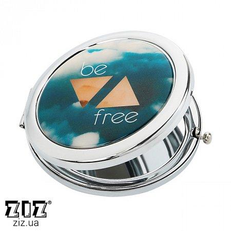 Карманное зеркало Будь свободным, ZIZ-27008