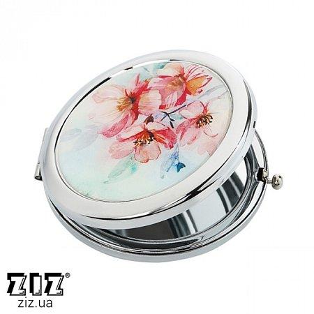 Карманное зеркало Цветение, ZIZ-27002