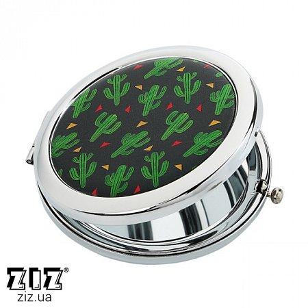 Карманное зеркало Кактусы, ZIZ-27011