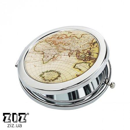 Карманное зеркало Карта, ZIZ-27001
