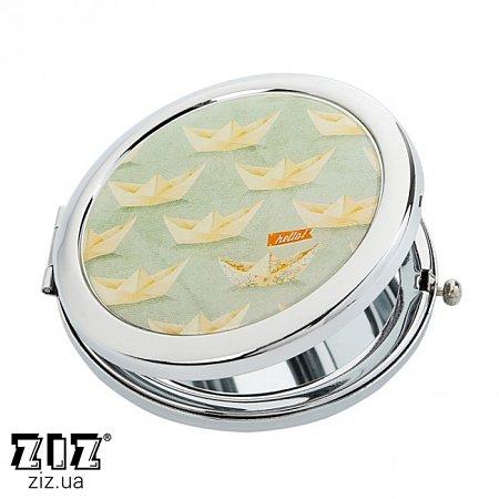 Карманное зеркало Кораблики, ZIZ-27013