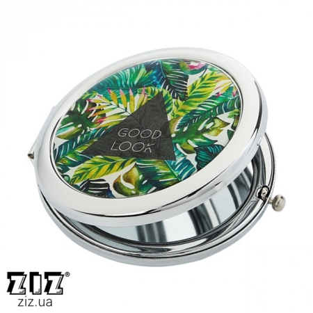 Карманное зеркало Пальмовые листья, ZIZ-27004
