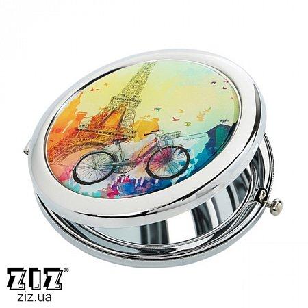 Карманное зеркало Парижское настроение Бирюзовый , ZIZ-27014
