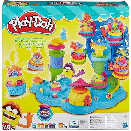 Карнавал сладостей, набор для лепки, Play-Doh, B1855