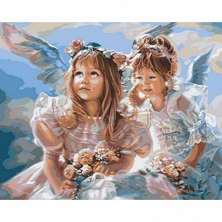 Картина по номерам Ангелочки 40х50см, Babylon VP204