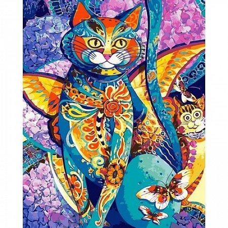Картина по номерам Чеширский кот 40х50см, Babylon VP613