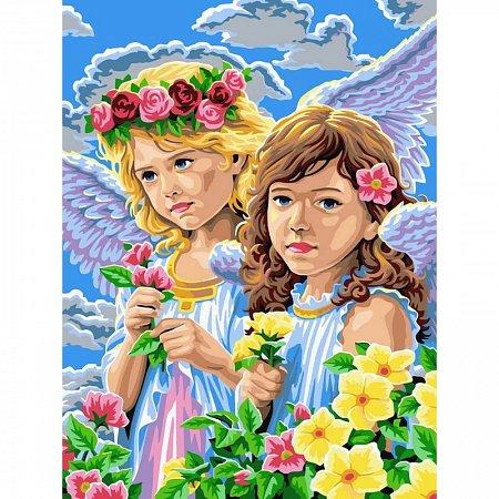 Картина по номерам Девочки-ангелы 30x40см, Babylon VK135