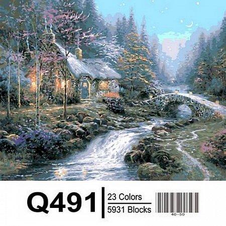 Картина по номерам Дом волшебника 40х50см, Mariposa Q491