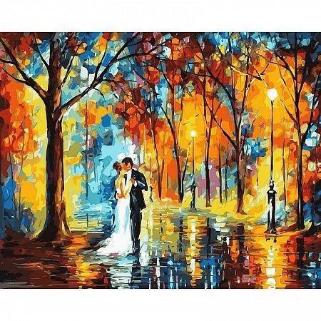 Картина по номерам Дождливая свадьба 40х50см, Babylon VP457