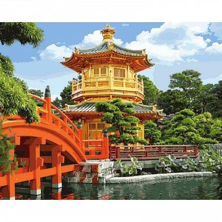Картина по номерам Китайская пагода 40х50см, Babylon VP647