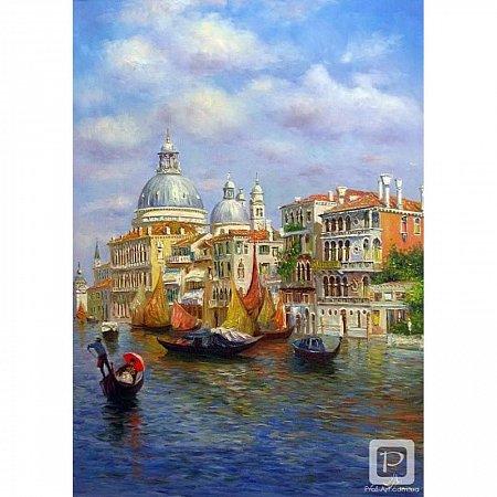 Картина по номерам Лазурь Венеции 40х50см, Babylon MS411