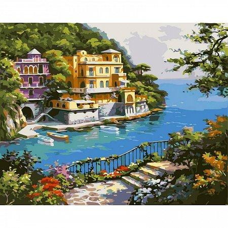 Картина по номерам Нарисованный рай 40х50см, Babylon VP212