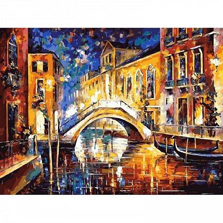 Картина по номерам Ночь в Венеции 40х50см, Babylon VP065