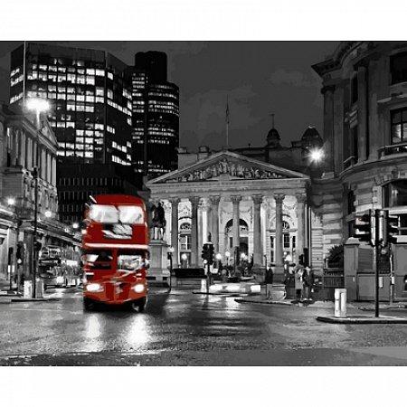 Картина по номерам Ночной Лондон 40х50см, Babylon VP723