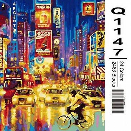 Картина по номерам Огни большого города 40х50см, Mariposa Q1147