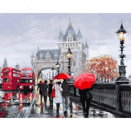 Картина по номерам Осень в Лондоне 40х50см, Babylon VP552