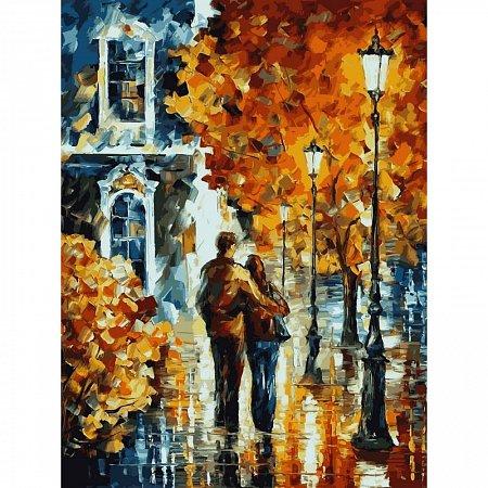 Картина по номерам Осенняя прогулка 30x40см, Babylon VK031
