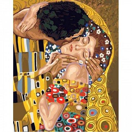 Картина по номерам Поцелуй 40х50см, Babylon VP547