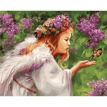 Картина по номерам Поцелуй бабочки 40х50см, Babylon VP435