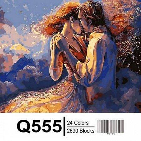 Картина по номерам Поцелуй из прошлого 40х50см, Mariposa Q555