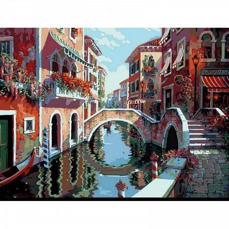 Картина по номерам Полдень в Венеции 40х50см, Babylon VP264