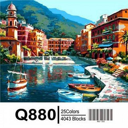 Картина по номерам Причал в тропиках 40х50см, Mariposa Q880