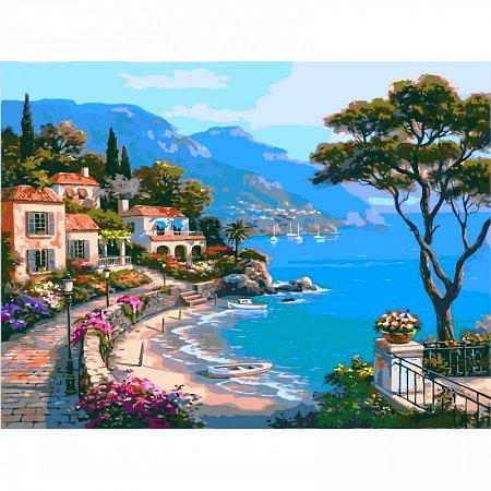 Картина по номерам Райский уголок 40х50см, Babylon VP003