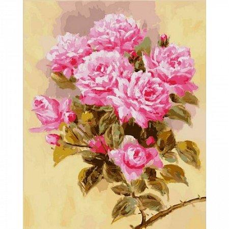 Картина по номерам Розовая ветвь 40х50см, Babylon VP588