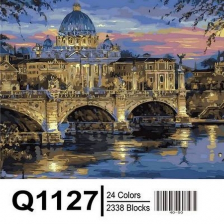 Картина по номерам Сумерки над Римом 40х50см, Mariposa Q1127