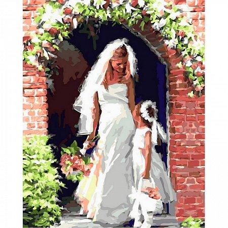 Картина по номерам Свадебный ангел 40х50см, Babylon VP454