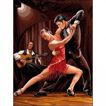 Картина по номерам В ритме танго 30x40см, Babylon VK047