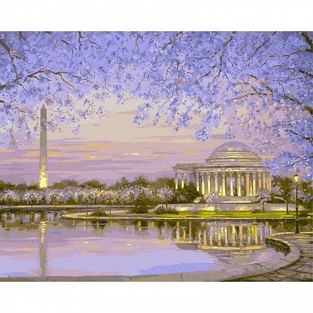 Картина по номерам Весеннее цветение 40х50см, Babylon VP046