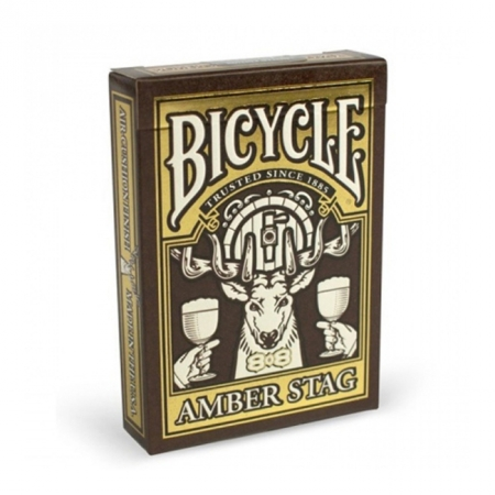 Карты Bicycle Amber Stag