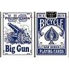 Карты Bicycle Big Gun Blue