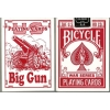 Карты Bicycle Big Gun Red