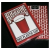 Карты Bicycle Red Plastic Cup