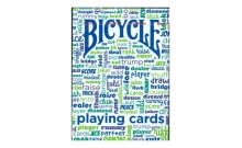 Карты Bicycle Table Talk Blue