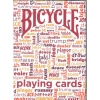 Карты Bicycle Table Talk Red