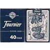 Карты для покера Fournier №40 Monkey Back синие, 21645blue