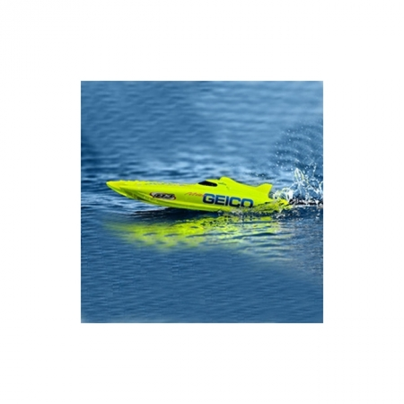 Катамаран на радиоуправлении Pro Boat Miss Geico 17 2.4GHz 432 мм RTR (PRB0300)