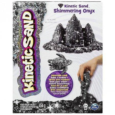 Kinetic Sand Metallic - песок для творчества, серебряный, 454 г, Wacky-tivities, 71408S